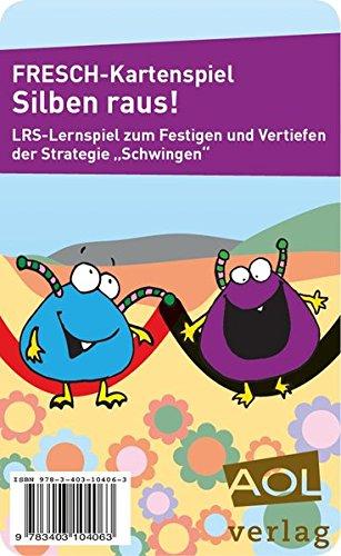 FRESCH-Kartenspiel: Silben raus!: Lernspiel zum Festigen und Vertiefen der Strategie Schwingen (1. bis 4. Klasse) (Fit trotz LRS)