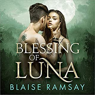 Blessing of Luna audiobook cover art