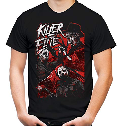 Killer Elite heren en heren T-shirt | Freddy Michael Myers Jason Voorhees
