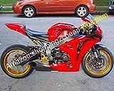 para CBR1000RR CBR 1000RR CBR 1000 RR 2008 2009 2010 2011 rojo motocicleta carenado Kit de carenado (moldeo por inyección)