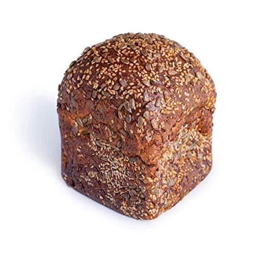 KetoUp: 3 Frische Low Carb Meisterbrote | Ketogene und Low Carb Ernährung | Sportnahrung | Gesunde Ernährung|enthält maximal 7% Kohlenhydrate - 3 x 450g