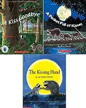 Audrey Penn Kisses 3-Pack: A Kiss Goodbye; The Kissing Hand; A Pocket Full of Kisses
