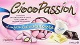 Cioco Passion - Confetti di cioccolato al latte, con Cuore di Cioccolato Bianco - 1kg