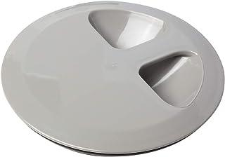 Belca 排水口 ふた 流し用ミズドメ・止水フタ 直径14.5cm用 直径(外径)15×高さ2.8cm グレー 日本製 SP-234T