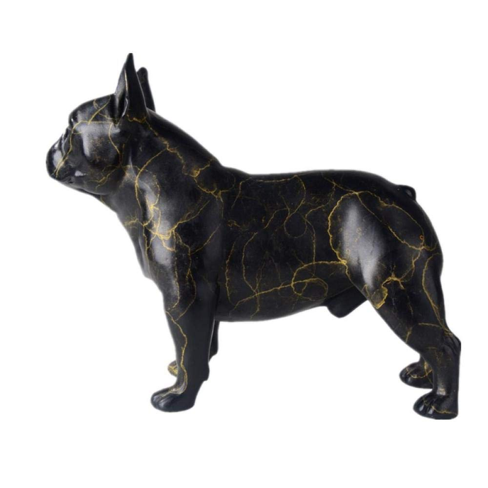 Escultura de bronce Bulldog perro escultura de bronce personaje Sculpture Bulldog Dog