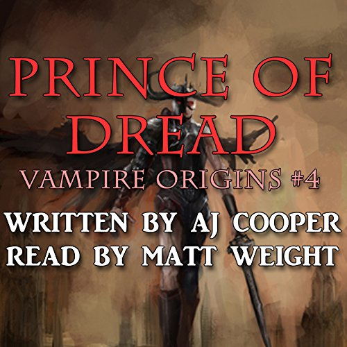 Prince of Dread audiobook cover art