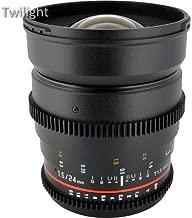 Rokinon 24mm T1.5 Cine ED AS IF UMC Lens for Sony A Mount