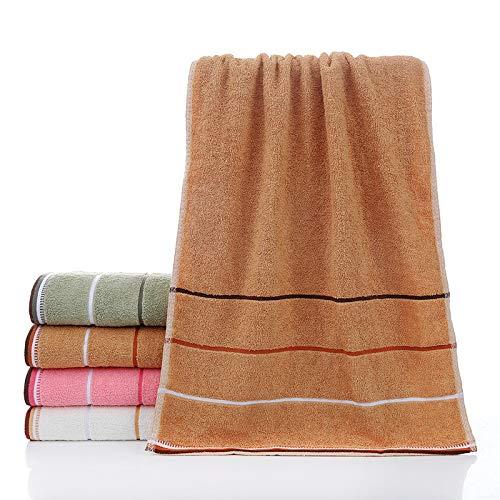 Toallas de ducha de algodón de tres etapas de 40 x 90, 32 acciones más largas que absorben el agua y son duraderas y grandes tres toallas