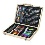 Juego de 68 lápices de colores profesionales para dibujar y pintar, colorear, óleo, artista, suministros de arte para estudiantes o niños