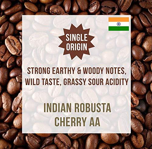 India Robusta Cherry AA 1KG - Single Origin Kaffeebohnen - Coffee World