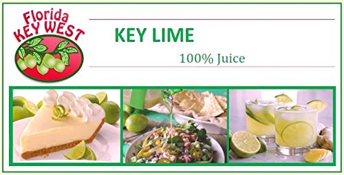 Florida Key West 100% authentisch Key Lime Juice 16 Oz - 3