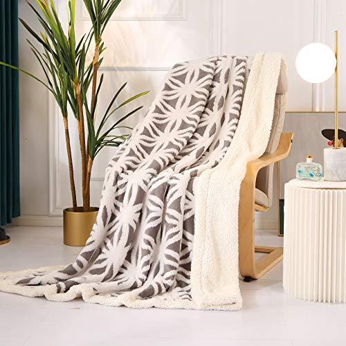Qucover Wohndecke Kuscheldecke Flauschige Warme Flanell Decke 150x200cm Cashmere-Feeling Sofadecke...