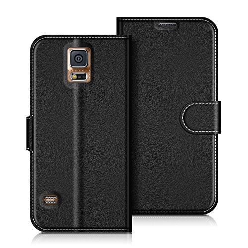 COODIO Funda Samsung Galaxy S5 con Tapa, Funda Movil Samsung S5, Funda Libro...