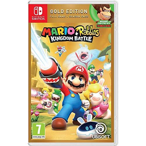 Mario Plus Rabbids Kingdom Battle Gold Edition (Nintendo Switch)