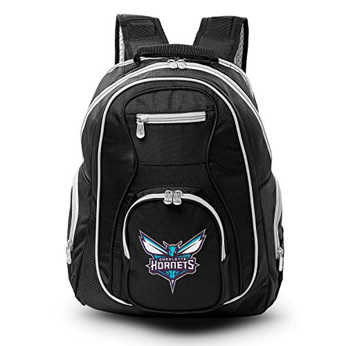 NBA Charlotte Hornets Colored Trim Premium Laptop Backpack