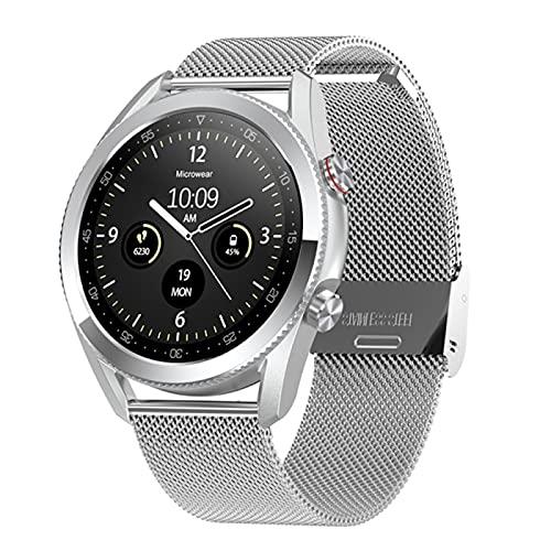 zyz L19 Smart Watch Call Bluetooth, IP68 Impermeable, Rastreador De Fitness, Monitoreo De Ritmos Cardíaca, Relojes Deportivos para Hombres Y Mujeres,C
