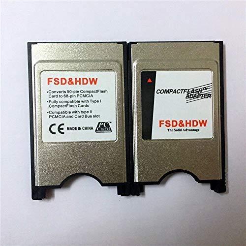 PCMCIA Compact Flash PC CF Card Reader Adapter