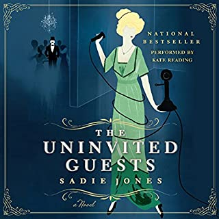The Uninvited Guests     A Novel              By:                                                                                                                                 Sadie Jones                               Narrated by:                                                                                                                                 Kate Reading                      Length: 8 hrs and 47 mins     80 ratings     Overall 3.4