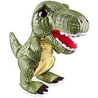 Marsjoy Green Walking Electronic Jurassic Dinosaur Robot