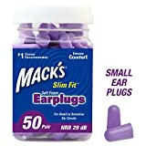 Best Ear Plugs For Small Ear Canals - Mack's Slim Fit Soft Foam Earplugs, 50 Pair Review