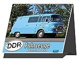 Wochenkalender 'DDR-Fahrzeuge' 2021: 16 x 12 cm, Aufstellkalender (Geschenkkalender)