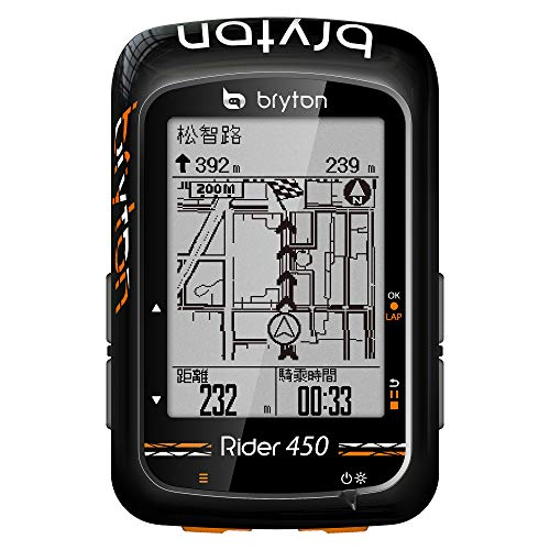 Best Review Of Bryton Rider 450T GPS Wireless GPS 78+ Black ANT+/BLE