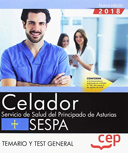 Celador del Servicio de Salud del Principado de Asturias. SESPA. Temario y test general: 1