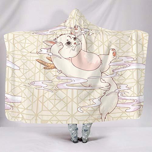 YxueSond Een pijp droom Ultra-Zacht Materiaal Fleece Pluche Gooi Deken voor Sofa Stoel Bed Office