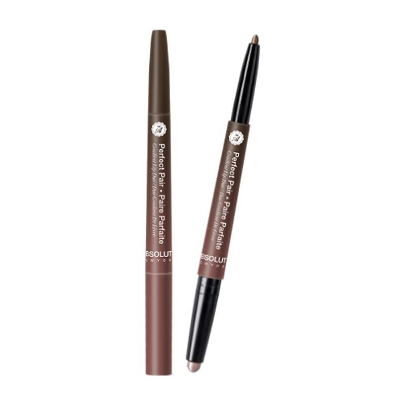 散逸ストレッチアンペア(3 Pack) ABSOLUTE Perfect Pair Lip Duo - Malted Chai (並行輸入品)