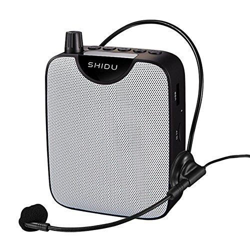 Portatil Amplificador de voz (10W) pila al lithiumand ultraligero con clip de...