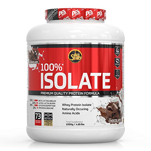 All Stars 100% Whey Isolate, Schokolade, 1er Pack (1 x 2200g)