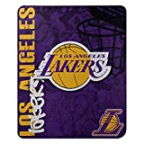 The Northwest Company NBA Los Angeles Lakers 'Hard Knocks' Fleece Throw Blanket, 50' x 60' , Purple