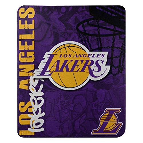 NBA Golden State Warriors Bedruckte Fleecedecke, Unisex Damen Jungen Mädchen Herren, 1NBA/03101/0013/AMZ, violett, 50