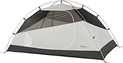 Kelty Gunnison 2 Person Backpacking and Camping Tent with Footprint, Grey