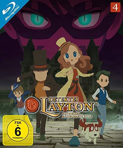 Detektei Layton - Katrielles rätselhafte Fälle: Volume 4 [Blu-ray]