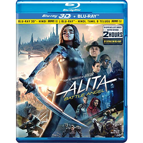 Alita: Battle Angel (3D + Blu-ray) (2 Disc)
