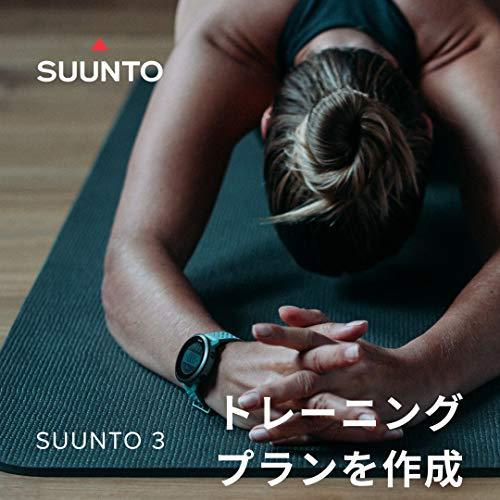 SUUNTO3(スントスリー)スマートウォッチウェアラブルウォッチフィットネスSALTEGREY【日本正規品/メーカー保証】