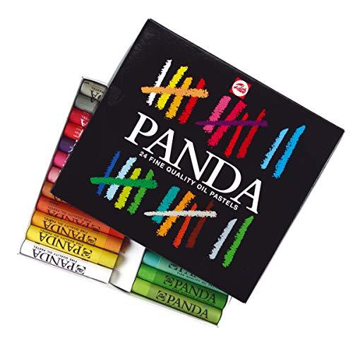 Talens Boîte de 24 pastels gras PANDA