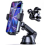 Syncwire Car Phone Holder Mount, Upgraded Suction Cup Long Arm Phone Holder for Car Dashboard Windshield Air Vent Hands Free Clip Cell Phone Holder Compatible with All Mobile Phones iPhone Samsung