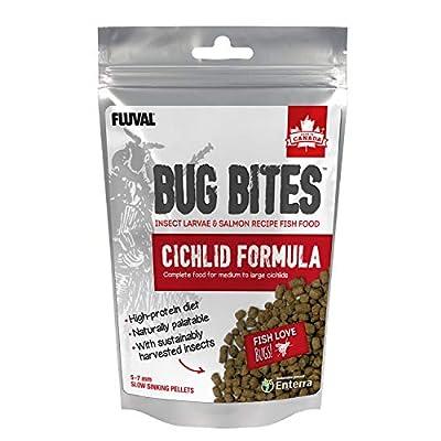 Fluval Bug Bites Cichlid Granule Fish Food, 100 g