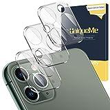 UniqueMe [3 Pezzi] Fotocamera Posteriore Pellicola per iPhone 11 PRO/iPhone 11 PRO Max Vet...