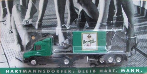 Hartmannsdorfer Nr.14 - Bleib hart, Mann - Scania - Sattelzug mit Reklamewand