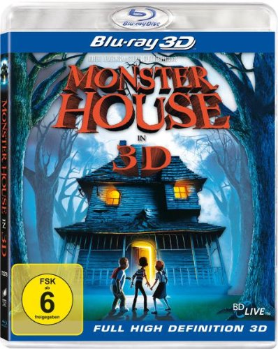 Monster House [3D Blu-ray]