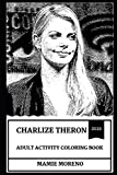 Charlize Theron Adult Activity Coloring Book (Charlize Theron Adult Activity Coloring Books)