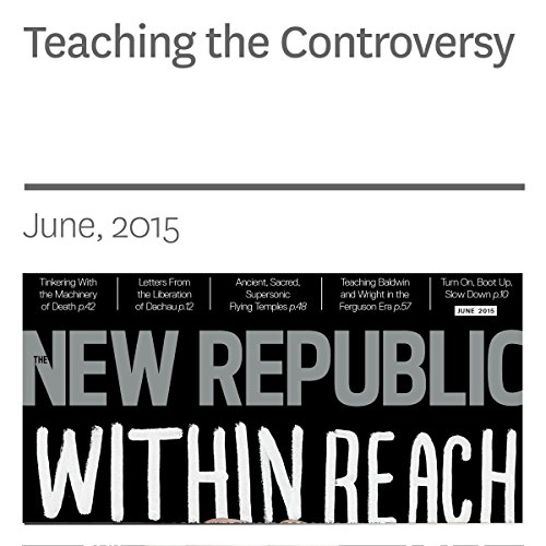 Teaching the Controversy audiobook cover art