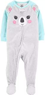 Carters Infant //Toddler Girls Fleece Footed Blanket Sleeper NWT 12M   3T 4T  5T