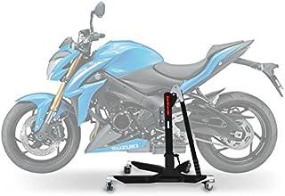 ConStands Power Classic Zentralständer Suzuki GSX S 1000 15 21 Schwarz Matt Motorrad Aufbockständer Heber Montageständer