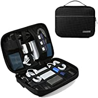 Bagsmart Cables And Accessories Travel Organizer (Black)