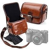 Duragadget - Funda para cámara de fotos Sony ZV-1 Vlog/a6400 / ILCE-7SB Alpha 7S, Olympus Pen E-PL9, Canon EOS R, Fujifilm X-T100