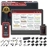 LAUNCH V (X431 Pro) 8 Pulgadas WiFi/Bluetooth Sistema Integral Diagnosis Multimarca Soporta Codificacion de Inyectores y Programacion de Llaves 2 Años Actualizacion (Negro)